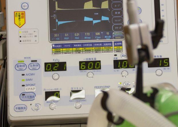 人工呼吸器 自動車メーカー